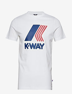 Pete Macro Logo  T-Shirt - WHITE