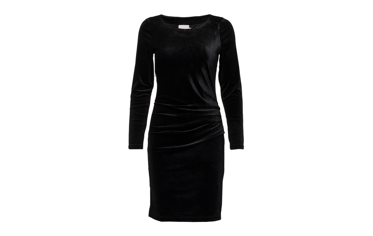 Deep 10 90 Kaffe Elastane Dress Kelly Polyester Black wSFt6q7