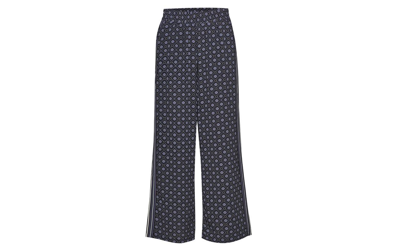 Bordure Polyester Folkstone Gray Pants 5 Kaffe 95 Halime Elastane qpg86