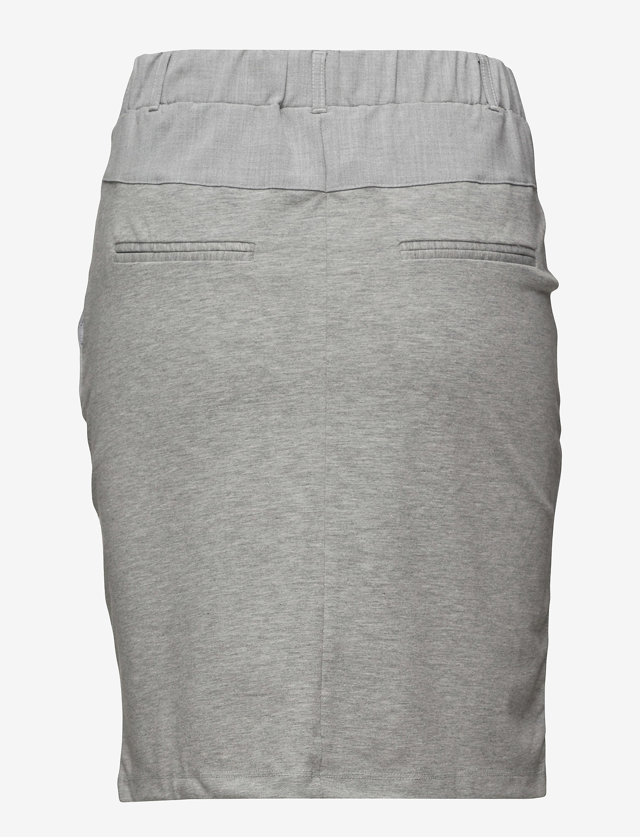 Kaffe - Jillian Skirt - midinederdele - light grey melange - 1