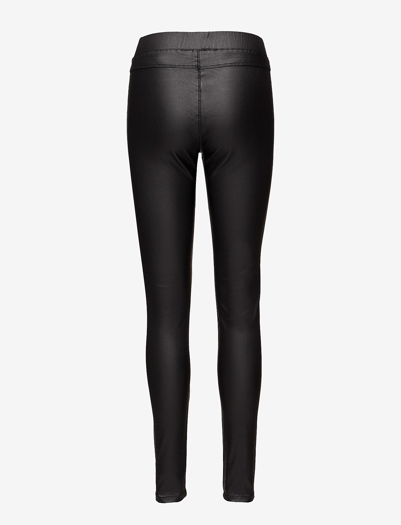 Ada Coated Jeggings (Black Deep) - Kaffe CQhlLG