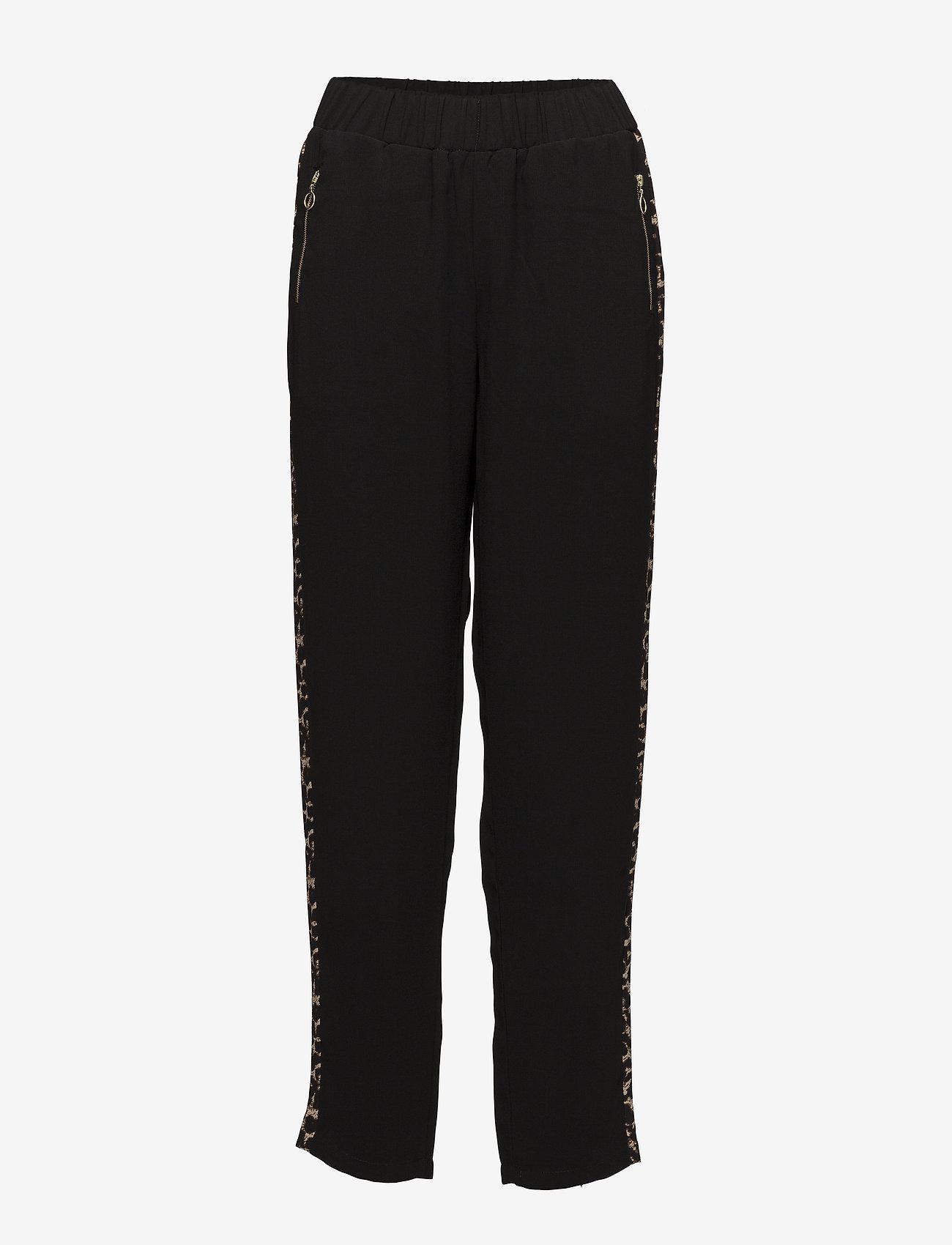 Kaffe - Lester Pants - casual trousers - black deep