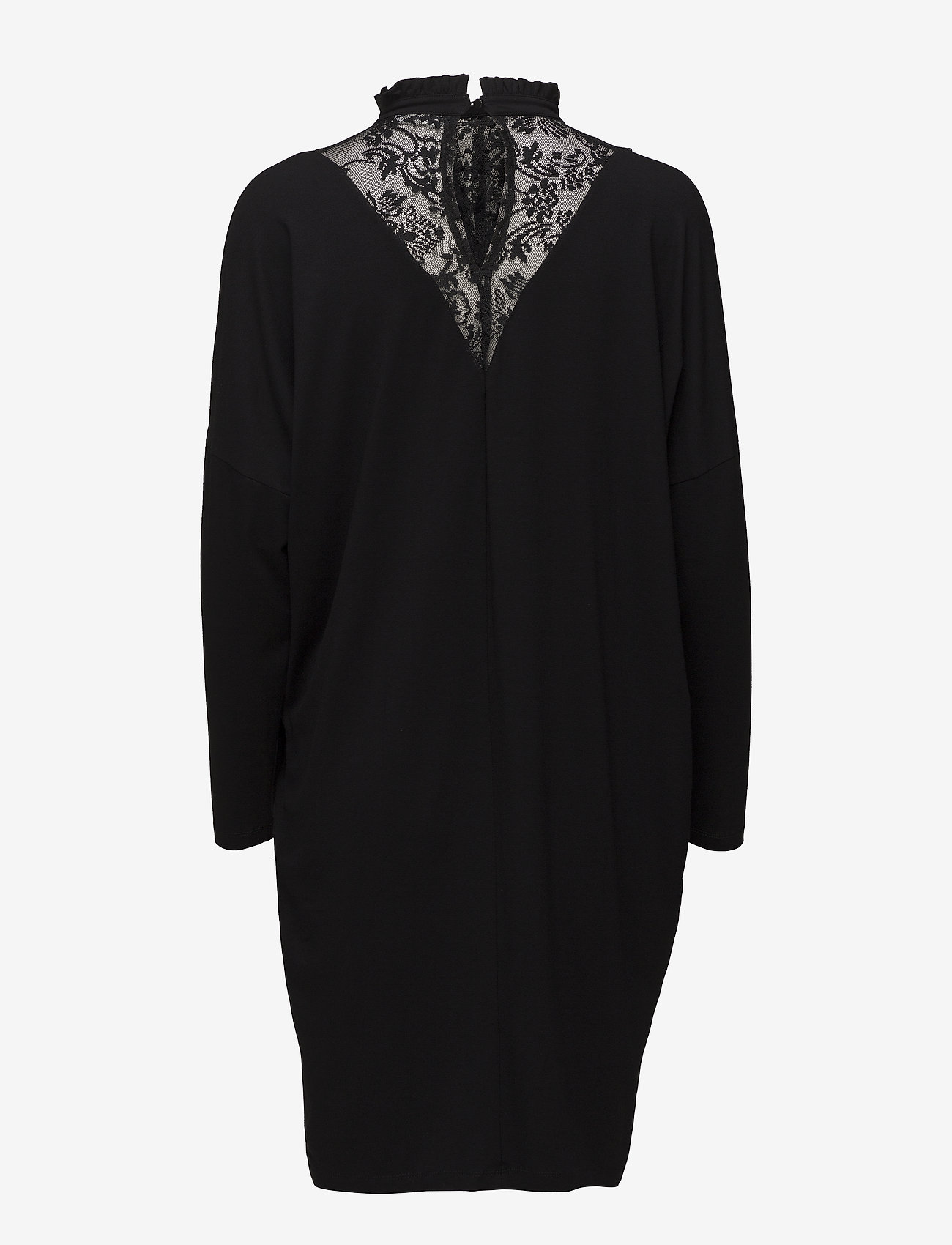 Kaffe - Solina Jersey Dress - robes longeur du midi - black deep