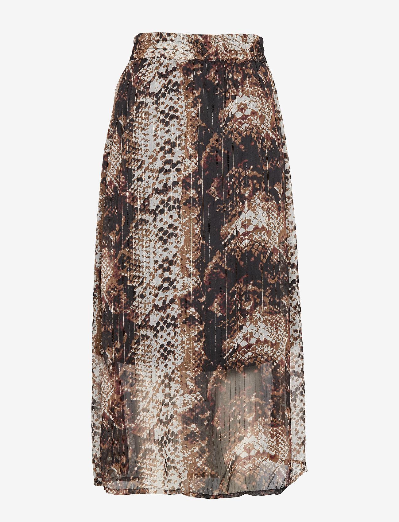 Kaffe KAfally Skirt - Spódnice BLACK DEEP - Kobiety Odzież.