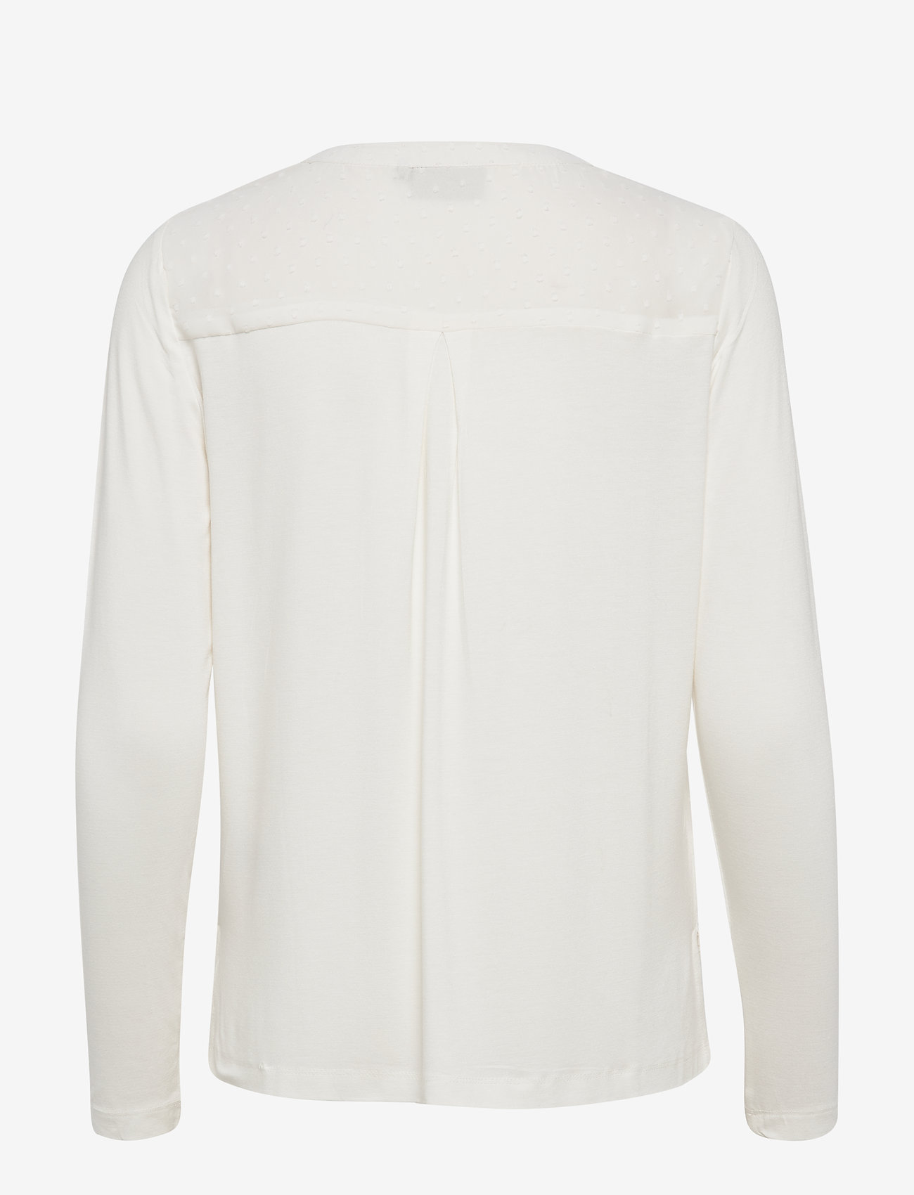 Kaffe - KAsolveig Blouse - blouses à manches longues - chalk