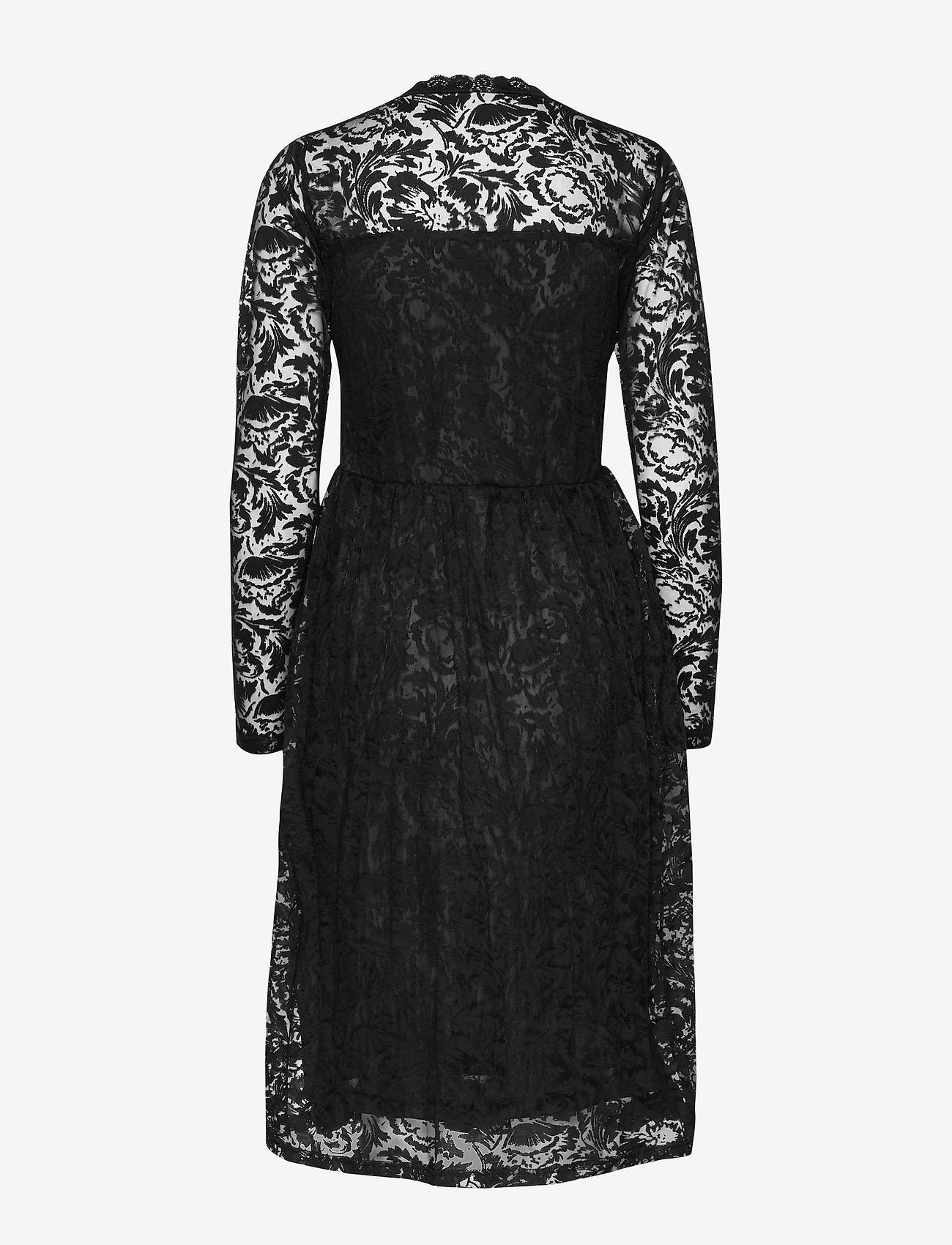 Kaffe - KAvilli Lace Dress - midimekot - black deep