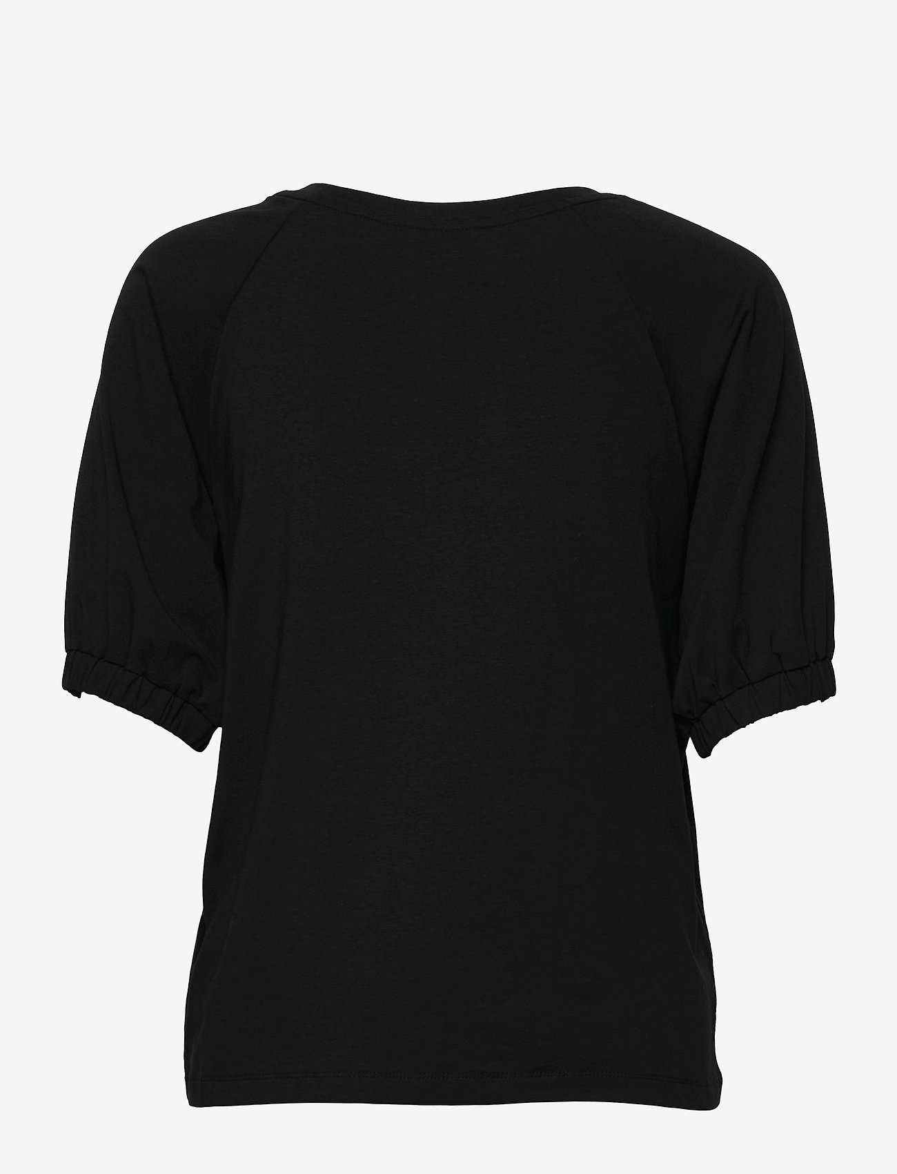 Kaffe - KAdana Linda Blouse - t-shirts - black deep - 1
