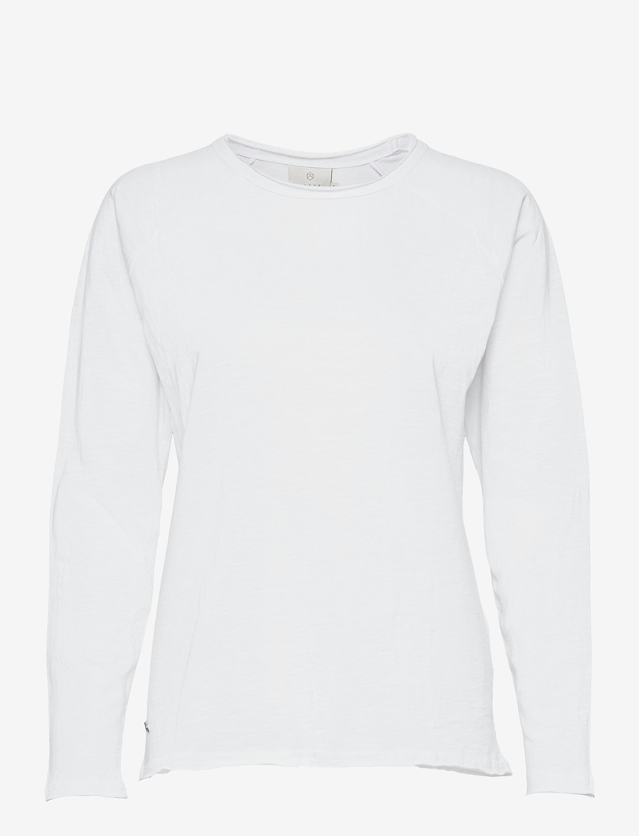 Kaffe - KAvitta LS T-shirt - langærmede toppe - optical white - 1