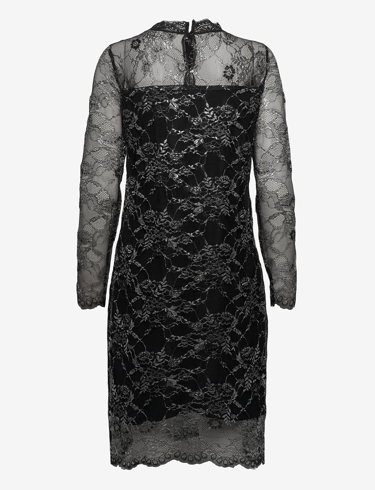 Kaffe - KAamina Lace Dress - bodycon-kjoler - black deep - 1