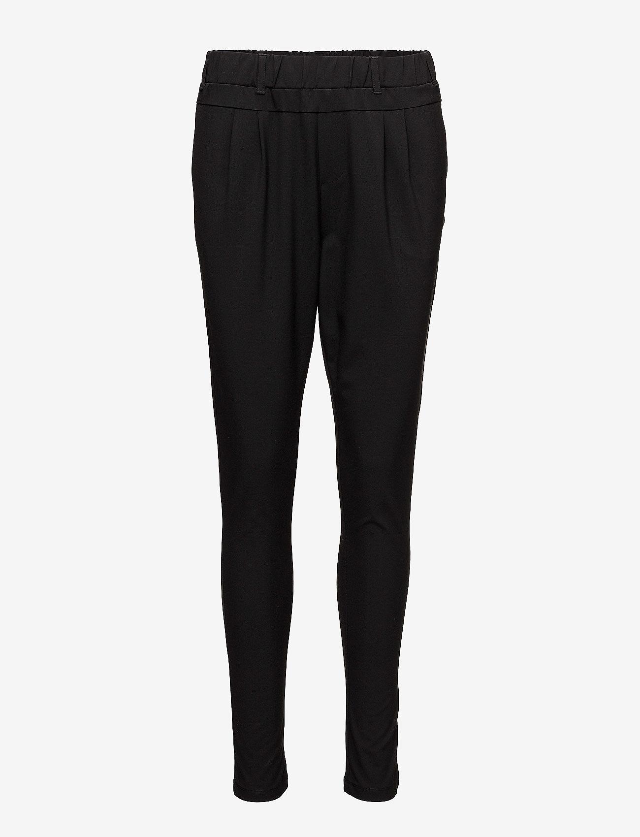 Kaffe - Jillian Pants - bukser med smalle ben - black deep - 1