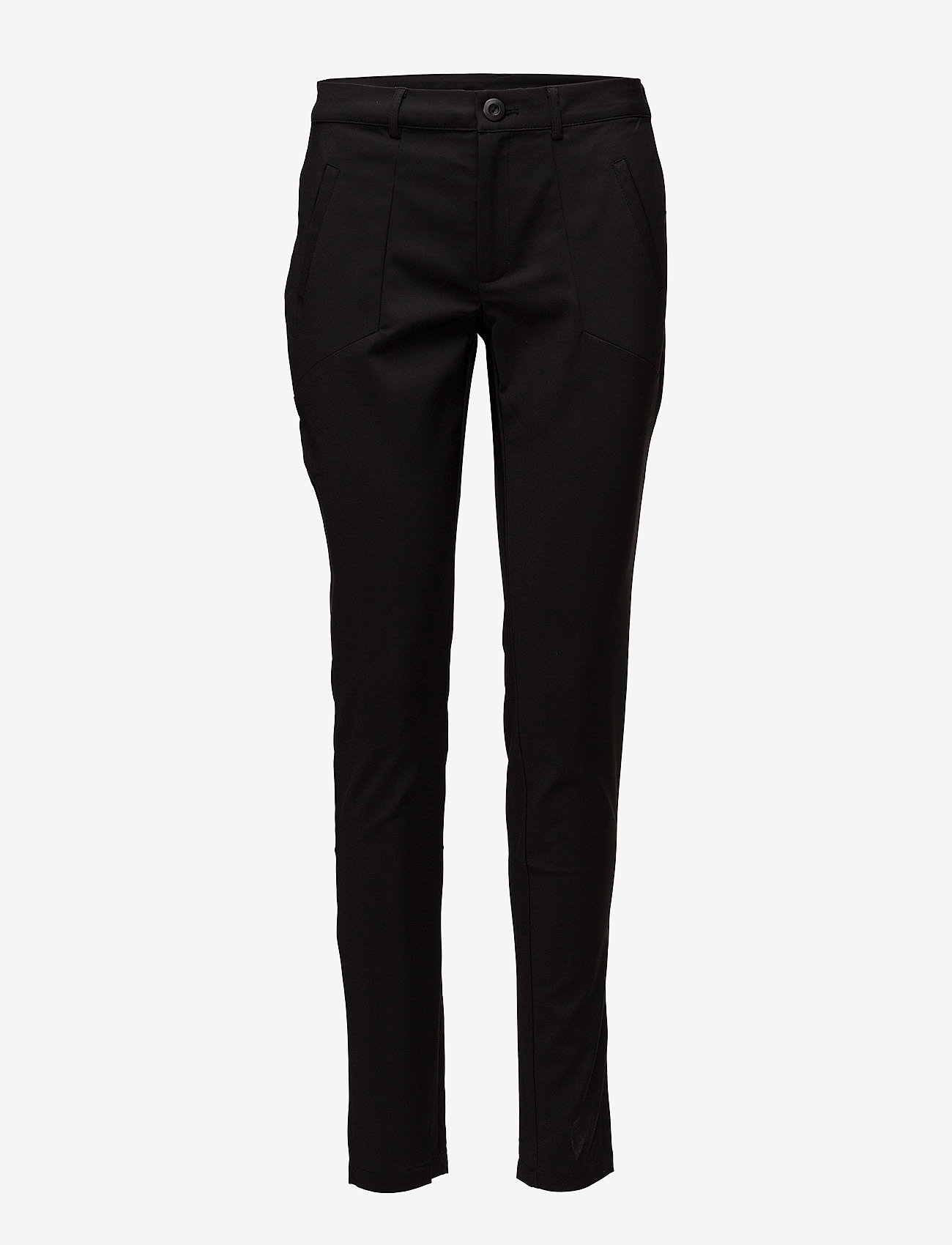 Kaffe - Vera Pant - slim fit bukser - black deep - 1