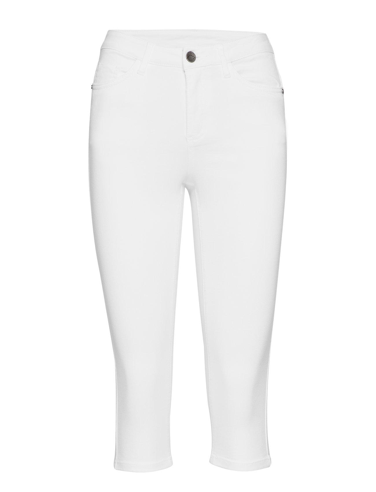 Kaffe Grace Capri Jeans- MIN 6 Pcs - OPTICAL WHITE