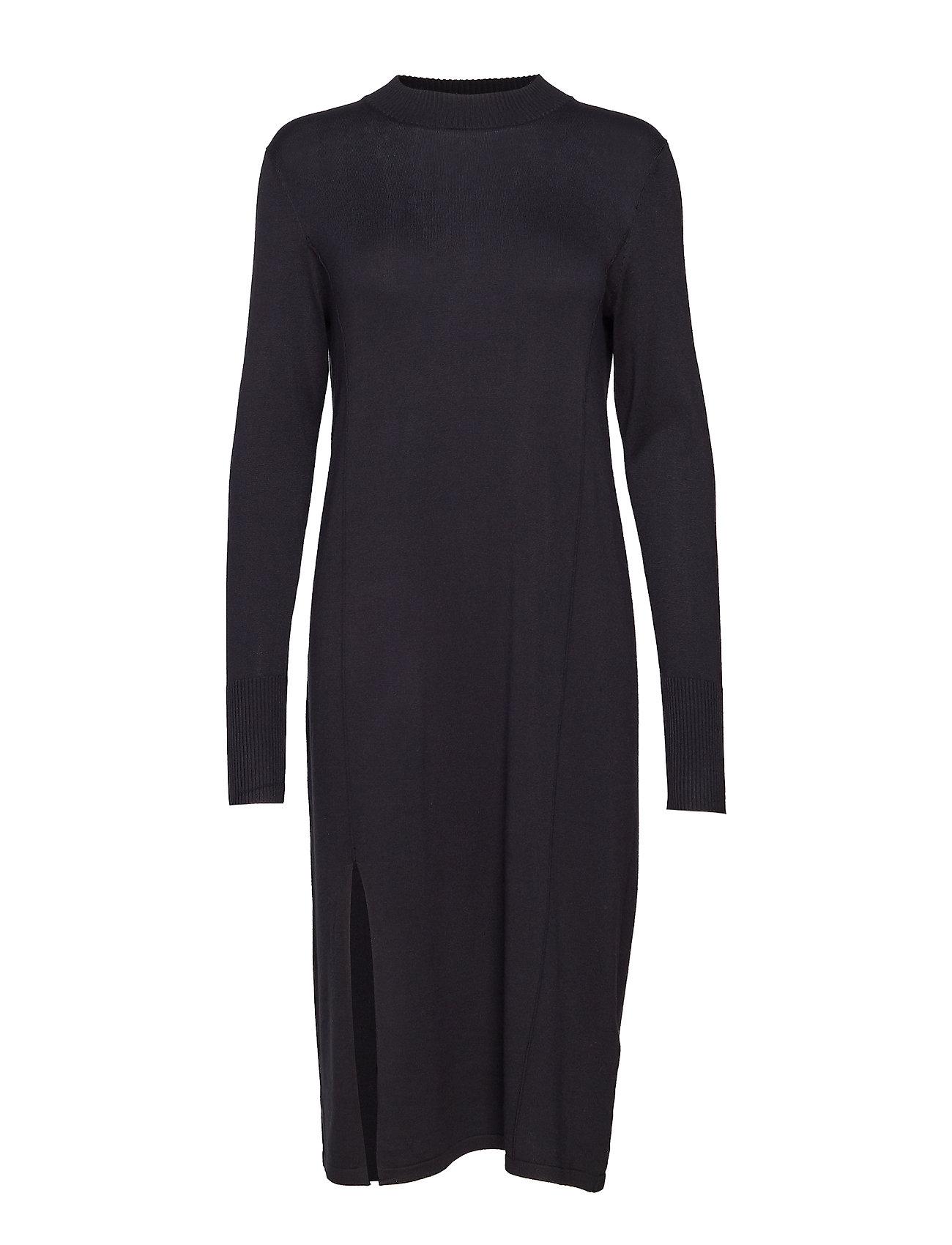 Kaffe Jamal Knit Dress - BLACK DEEP