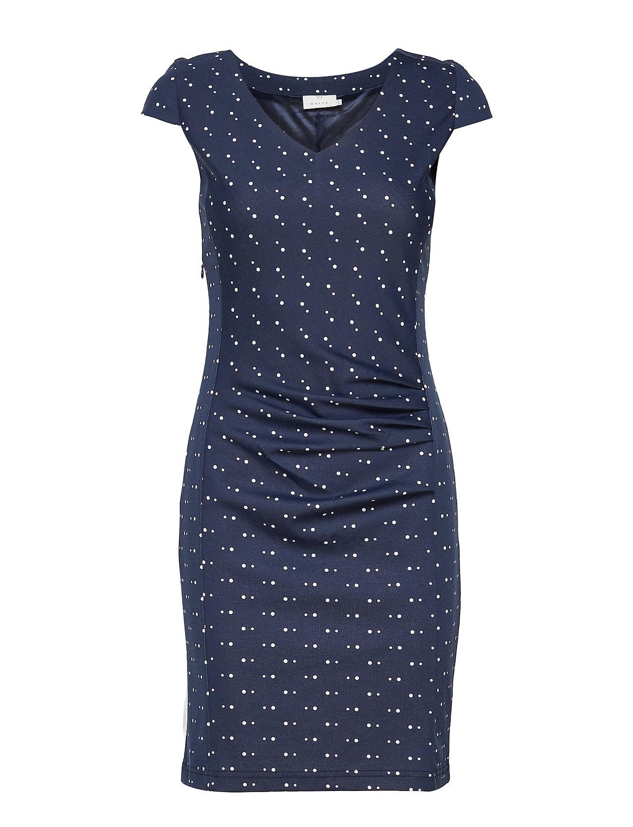 Kaffe Abel India Dress - MIDNIGHT MARINE/50003