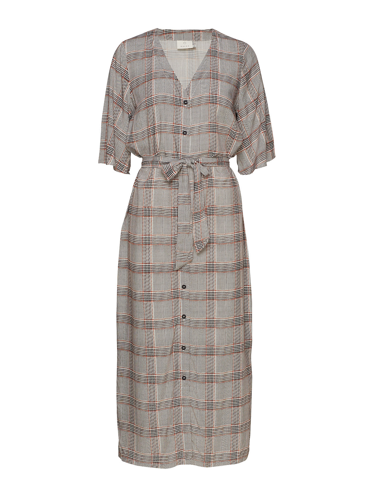 Kaffe KAcharlot Shirt Dress - CHALK