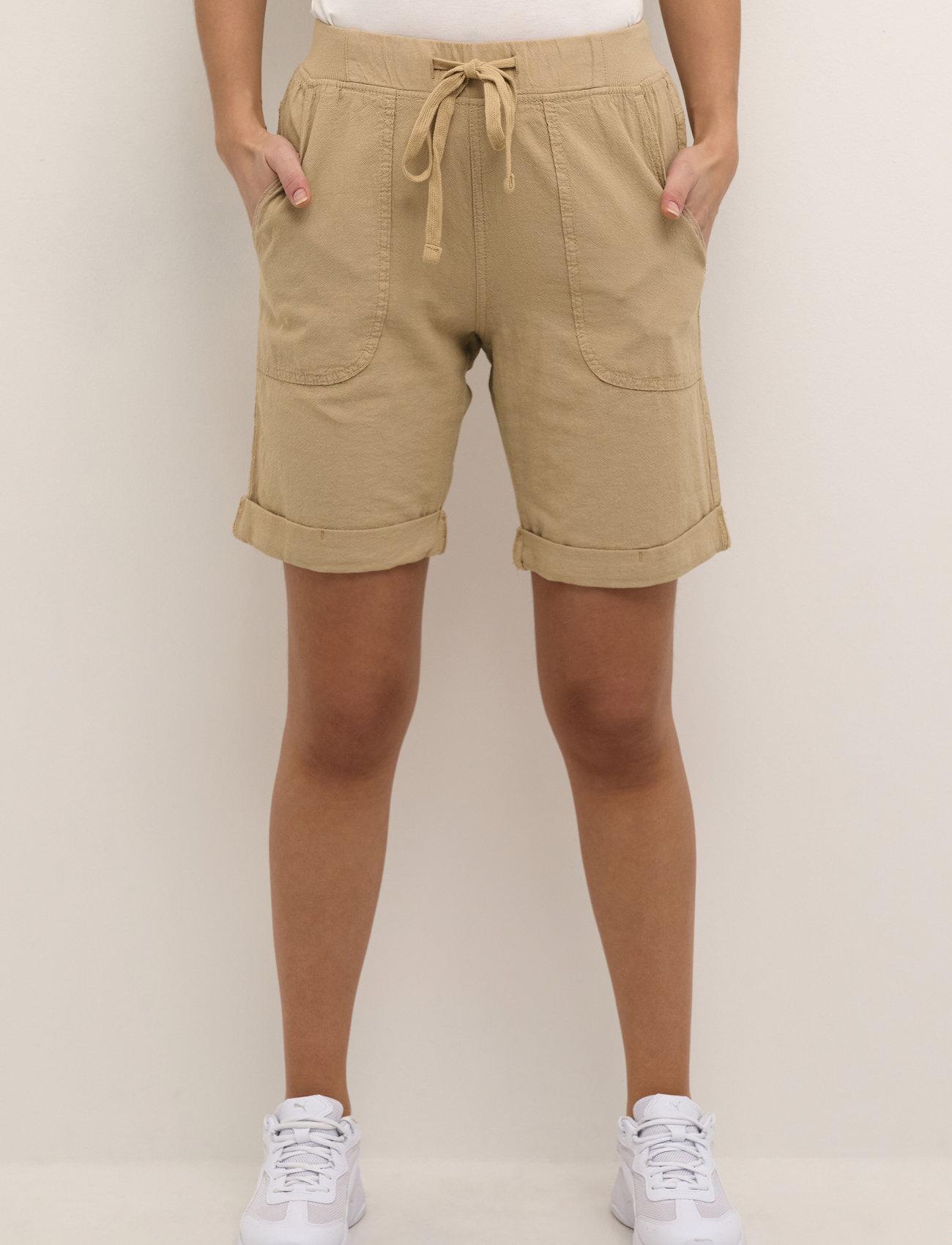 Kaffe - KAnaya Shorts - shorts casual - classic sand - 0