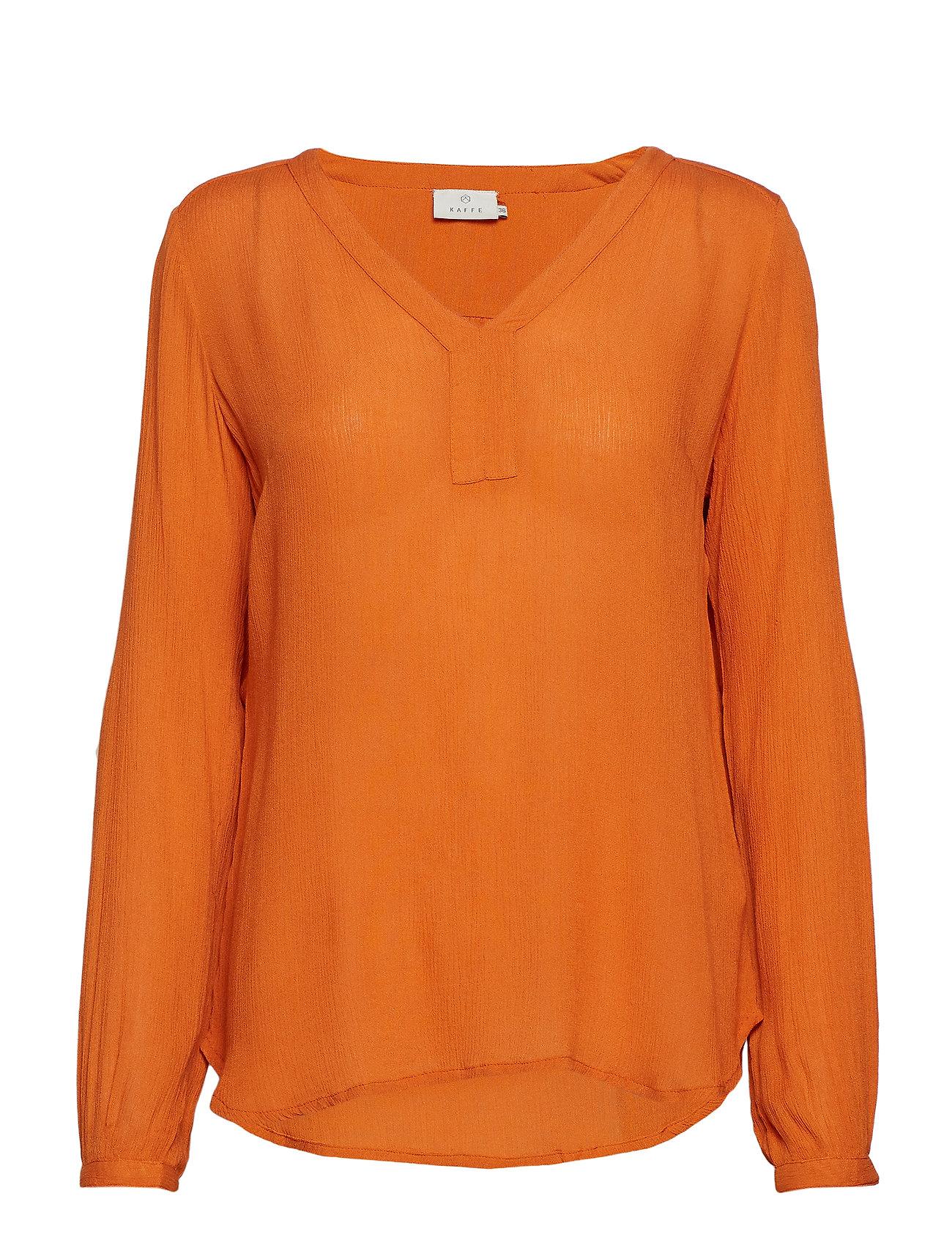 Amber OrangeKaffe L s BlouseMin 2burnt XPZiuOk