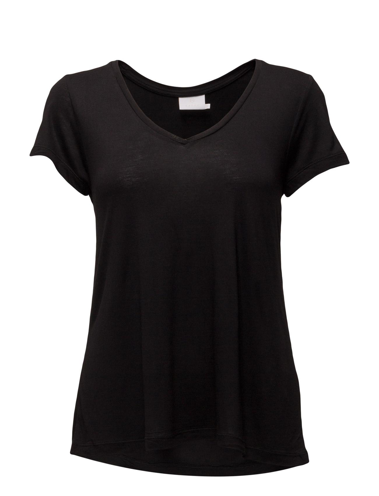 Kaffe Anna V Neck T Shirt MIN 16 pcs. Ögrönlar