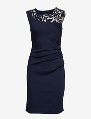 Kaffe - India Vivi Dress - midi dresses - midnight marine - 0