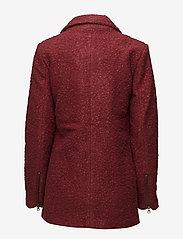 Kaffe - Lulu boucle coat- MIN 4 PCS - wool jackets - sun-dried tomato - 2