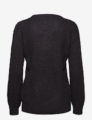 Kaffe - Cammi Rib Knit Pullover - pulls - black deep - 1