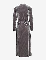 Kaffe - KAviola Wrap Dress - wrap dresses - silver grey - 1