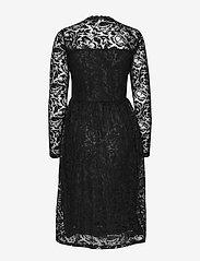 Kaffe - KAvilli Lace Dress - midimekot - black deep - 1
