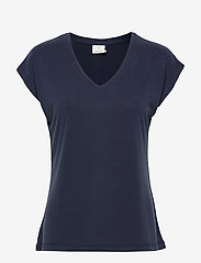 Kaffe - KAlise SS T-shirt - t-shirts - midnight marine - 1