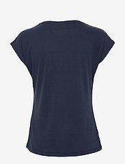 Kaffe - KAlise SS T-shirt - t-shirts - midnight marine - 2