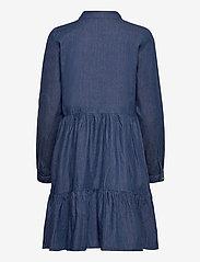 Kaffe - KAtiona Dress - blousejurken - blue denim - 2