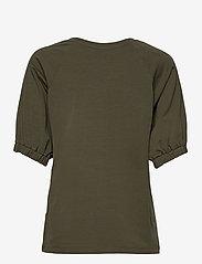 Kaffe - KAdana Linda Blouse - t-shirts - grape leaf - 2