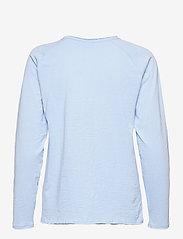 Kaffe - KAvitta LS T-shirt - langærmede toppe - chambray blue - 2