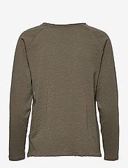 Kaffe - KAvitta LS T-shirt - langærmede toppe - grape leaf - 1