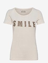Kaffe - KAemmery T-shirt - t-shirts - chalk - 0