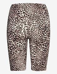 Kaffe - KAanni Jersey Shorts - cykelshorts - classic sand / black leopard - 1