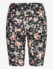 Kaffe - KAanni Jersey Shorts - cykelshorts - pink / blue multi flower - 2
