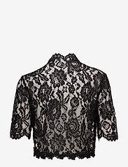 Kaffe - Edda Bolero ½ Sleeve - blouses à manches courtes - black deep - 1