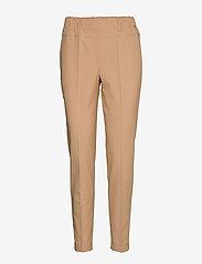 Kaffe - Nanci Jillian Pant - straight leg hosen - tannin - 0