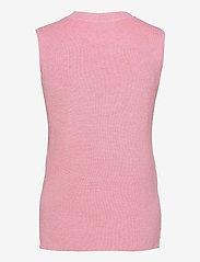 Kaffe - KAmiara Knit Vest - knitted vests - candy pink melange - 1