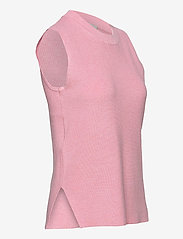 Kaffe - KAmiara Knit Vest - knitted vests - candy pink melange - 3