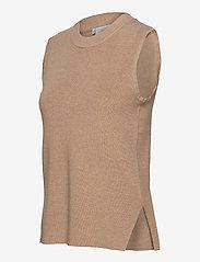 Kaffe - KAmiara Knit Vest - knitted vests - nomad melange - 2