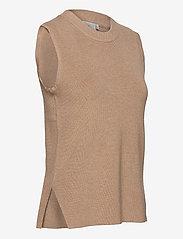 Kaffe - KAmiara Knit Vest - knitted vests - nomad melange - 3