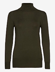 Kaffe - Astrid Roll Neck - turtlenecks - grape leaf - 0