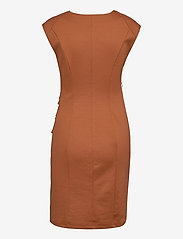 Kaffe - India V-Neck Dress - hverdagskjoler - sierra - 2
