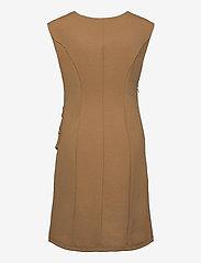 Kaffe - India Round-Neck Dress - midi kjoler - thrush - 2