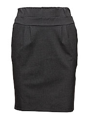 Jillian Skirt - DARK GREY MELANGE