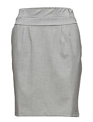 Jillian Skirt - LIGHT GREY MELANGE