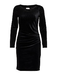 Kelly dress - BLACK DEEP