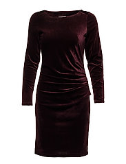 Kelly dress - DEEP WINE
