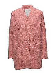 Rosie boucle coat- MIN 6 Pcs - BRIGHT ROSE